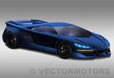 Vector WX8 concept car