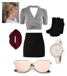 """""""Random"""" by queen1997nat on Polyvore featuring Topshop and Givenchy"""