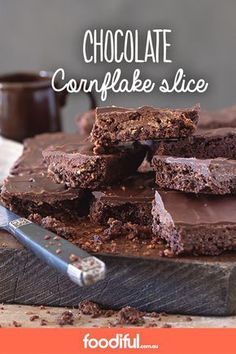 Now this is one delicious way to enjoy your cornflakes! This slice has dark chocolate, coconut and a touch of vanilla extract. It takes 1 hr and 45 mins and serves 16.