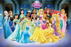 All princess Disney