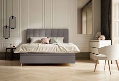 Schlaraffia Boxspringbett »Aida«, inkl. BULTEX® Topper, Metallfuß in chrom online kaufen | OTTO Amsterdam Apartment, Dreams Beds, New Homes, Bedroom, Interior, Furniture, Design, Home Decor, Products