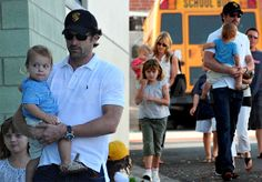 Patrick Dempsey Then and Now | Patrick+dempsey+wife+and+kids