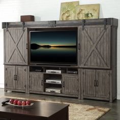 Legends Furniture Storehouse Entertainment Center | Hayneedle