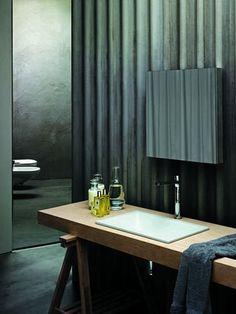 Built-in washbasin THIN by Angeletti Ruzza Azzurra