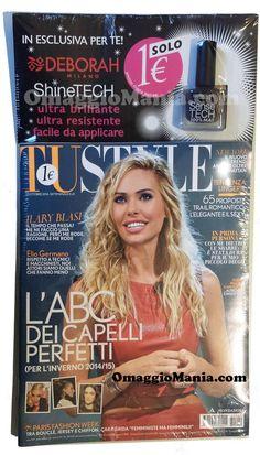 Smalto Shine Tech Deborah omaggio con TuStyle - http://www.omaggiomania.com/omaggi-nelle-riviste/smalto-shine-tech-deborah-omaggio-tustyle/