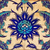Printed wall art by Anna Chandler ( Antique Fragment De Morgan) Cool Patterns, Beautiful Patterns, Textures Patterns, Print Patterns, Haint Blue, Islamic Tiles, Turkish Art, Tile Art, Textile Prints