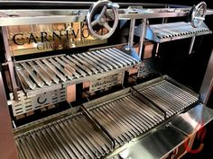 Vulcano Gres | Ember equipment at Carnivore Charcoal Grill, Brussels Kitchen Grill, Open Kitchen, Kitchen Appliances, Grill Restaurant, Restaurant Offers, Barbacoa, Chefs, Argentine Grill, Barbecue Design