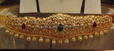 Jewellery Designs: 250 Grams Heavy Vaddanam