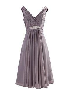Tidetell Exquisite V-neck Short Rhinestone Bridesmaid Prom Evening Dresses Grey Size 22W Tidetell http://smile.amazon.com/dp/B00PU0J5TW/ref=cm_sw_r_pi_dp_18lgvb07MPF3G