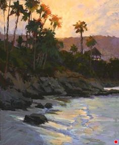 Laguna Sunrise by Kim Lordier Pastel ~ 20 x 16