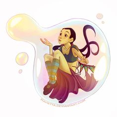 my bubbles by Ravietta.deviantart.com on @deviantART