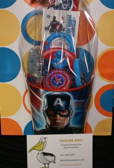 Captain America by Away. Captain America Birthday Cake, Loot Bags, Favours, Boys, Baby Boys, Senior Boys, Sons, Guys, Gift Bags