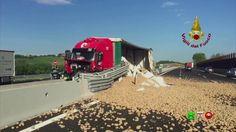 Vigili del Fuoco - Ancona - Incidente di un mezzo pesante in Autostrada ...