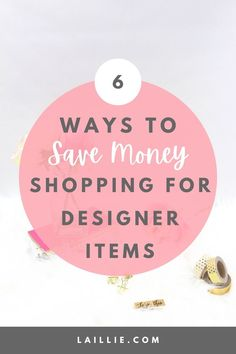 6 Tips on how to save money while shopping for designer outfits. Designer items are known to be quite expensive. Therefore, it is a wonderful idea to have a few methods and tricks up your sleeve which help you to save money doing so. Learn how to save money by shopping for designer items by reading my blog post! Gucci Ace Sneakers, My Values, Going On A Trip, A Day To Remember, I Wish I Had, Luxury Shop, Sell Items, Ways To Save Money, Saving Money
