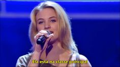 GAROTA DETONA NO THE VOICE KIDS :: Legendado ::