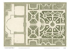 Courtly Garden Plan I