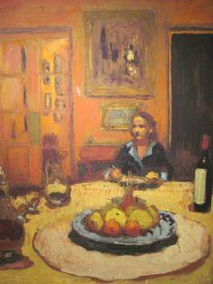 Dining Room, Rue de Naples, 1935 / Edouard Vuillard (Seattle Art Museum: Permanent Collection)