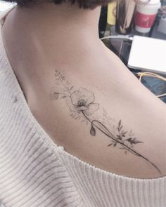 Cute Flower Tattoos for Women 2019 - Page 32 of 62 - Sof.- Cute Flower Tattoos for Women 2019 – Page 32 of 62 – Soflyme Cute Flower Tattoos for Women - Tattoo Girls, Girl Back Tattoos, Tattoos For Guys, Tattoos For Women Classy, Ladies Back Tattoo, Female Back Tattoos, Tattoo Female, Rose Flower Tattoos, Flower Tattoo Designs