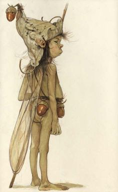 Jean-Baptiste Monge - would make a nice 3 D to place in the Fairy Garden...
