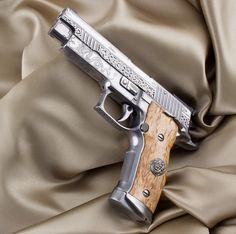 SIG Sauer Germany Prestige pistols........sweet baby Jesus I want this!