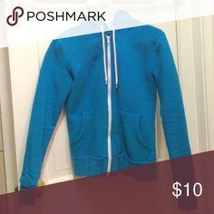 For @oddduckbishop Blue hoodie! EUC! For @oddduckbishop Tops Sweatshirts & Hoodies