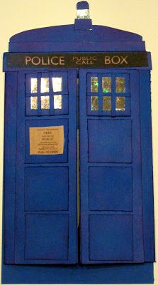 Keitha's Chaos: Dr. Who Birthday Card Front