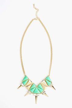 Siren Spike Necklace $22.00