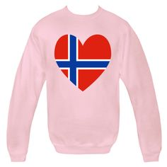 Fun design for Valentine's Day or any time, shows a Nordic Cross in a heart shaped Flag of Norway or Norwegian Flag. Great way to honor and share your love and pride in your ethnic heritage, culture and ancestry. Travelers will love it as a memento of a vacation, holiday or trip. Some creative teachers will find some products useful for teaching aids and tools. Wonderful gifts for Christmas, birthday, special days, and, of course, Valentine's Day. $29.99 ink.flagnation.com