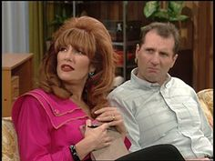 Katey Sagal and Ed O'Neill in Married with Children (1987)