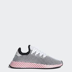 buy online ae782 00dea adidas Deerupt Runner Shoes Women s, Size  9, Black  women sshoessize7.