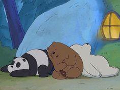 we bare bears Ice Bear We Bare Bears, We Bear, Bear Wallpaper, Cartoon Wallpaper, Pardo Panda Y Polar, Pan Pan, We Bare Bears Wallpapers, Brother Bear, Bear Cartoon
