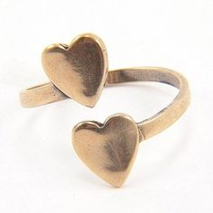 Heart to Heart ... Perfect Valentine's Day gift for the gardener in your life #ad (or just for yourself! :) Love this ring!