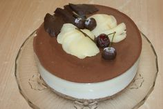 bavarois poire chocolat