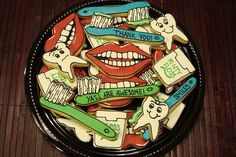 tooth dentist cookie