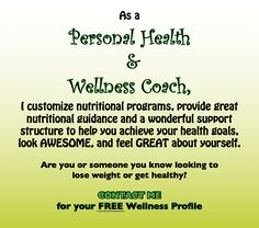 Health and Wellness Coach Find me on iChange! www.ichange.com/terbear24/landingpage