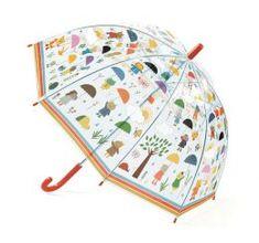 Detský dáždnik Zvieratká v daždi - 0ks