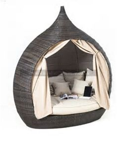 Image result for Melon Outdoor Wicker Pod Chair