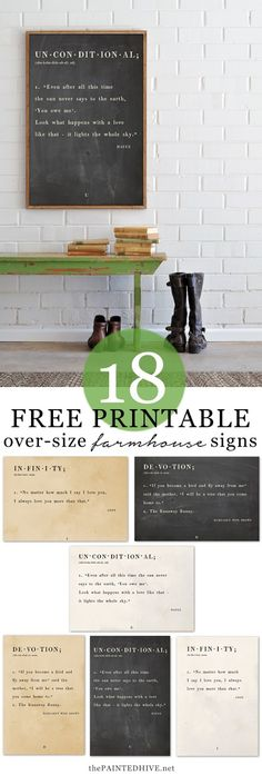 12 free and fabulous printables perfect for adding a touch of vintage to your home decor.  #printables #freeart #printable #vintageart #Vintagedecor #wallart