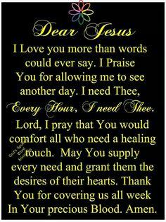 Prayer of Praise~~J Prayer Of Praise, Prayer Of Thanks, Fervent Prayer, Prayer For Today, Prayer Verses, Faith Prayer, God Prayer, Power Of Prayer, Prayer Quotes