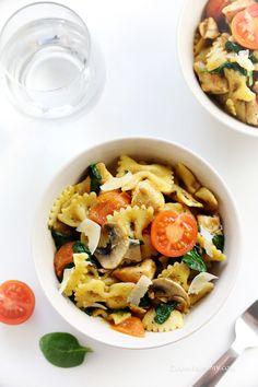 Hi friends! I have a lovely weeknight dinner idea for you today. If you don't have too much time on your hands but still would like to serve your loved ones something delicious and slightly extraordinary, I highly recommend this Brown Butter Chicken Pasta to you. It is super quick and the brown butter adds ... Read more...
