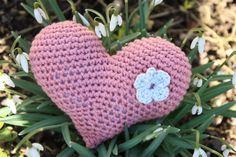 Polly kreativ: Eieiei - gehäkeltes Herz