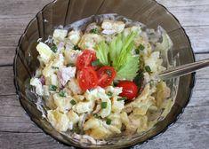 Zoznamovala som sa pomaličky, potichúčky s citom a láskou so stopkovým zelerom. Výsledkom bol veľmi chutný šalát. Potato Salad, Salads, Grains, Rice, Potatoes, Ethnic Recipes, Food, Potato, Essen