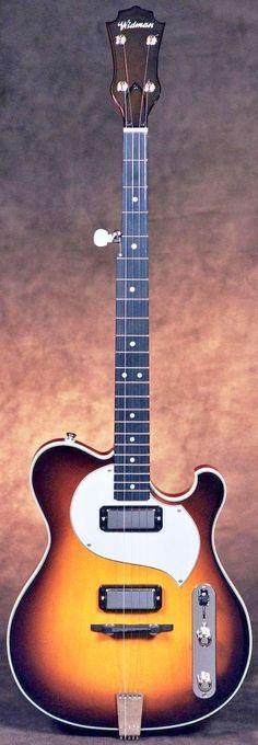 John Wildman electric Banjo --- https://www.pinterest.com/lardyfatboy/