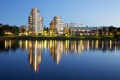 """Umeå """"skyline"""".. Umeå will be the capital of culture 2014. A Beautiful city in the very north of Sweden. Photo by: Jörgen Wiklund"""