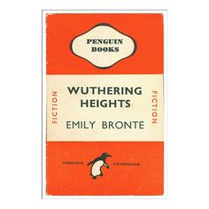 BuyPenguin Books - Wuthering Heights Unframed Print with Mount, 40 x 30cm Online at johnlewis.com