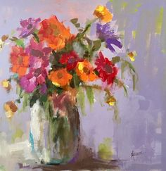 """Daily Paintworks - """"Today I Will Be Happy"""" - Original Fine Art for Sale - © Marcia Hodges"""