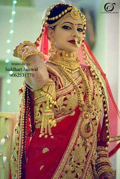 Best Rajasthani Poshak To Wear – Digital Manohar Indian Wedding Makeup, Indian Wedding Bride, Indian Wedding Jewelry, Bridal Jewellery, Wedding Wear, Indian Bridal Photos, Indian Bridal Outfits, Bridal Dresses, Beautiful Indian Brides