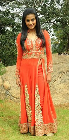 2015 Latest Anarkali Dress Heavy Designer by Ethnicdresses on Etsy