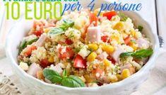 Fare la spesa con 150 euro al mese tutto compreso | Risparmiare di Mammafelice Couscous, Fried Rice, Fries, Euro, Vegetables, Cooking, Ethnic Recipes, Food, Budget