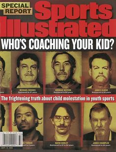 SI's Most Dramatic Covers - Child Molestation in Youth Sports
